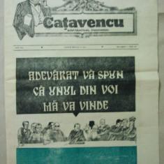 ZIAR CATAVENCU - SAPTAMANAL INCOMOD { NUMARUL 26 ANUL I - 1990 }