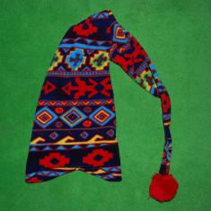 Sapca tip pitic din fleece, haioasa, 100 cm, calduroasa, groasa, colorata, - Caciula Copii