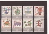 Bulgaria - serie stampilata 1969 transport MHN 1878-85