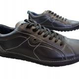 Pantofi barbati piele naturala Gitanos-529, Marime: 40, Culoare: Negru