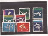 Bulgaria - serie stampilata 1969 - Sport