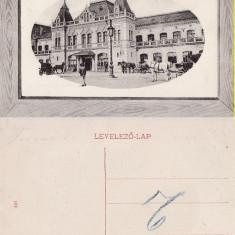 Oradea - Gara-animata - Carte Postala Crisana pana la 1904