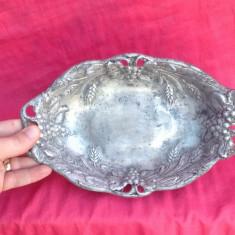 Deosebita Fructiera - Peltro !!! - Metal/Fonta, Ornamentale
