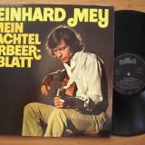 Disc vinil REINHARD MEY - Mein achtel Lorbeerblatt (Produs Intercord Germania) - Muzica Pop