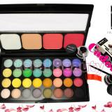 Trusa 36 farduri cu blush si pudra Fraulein38 + CADOU Eyeliner Gel 2 culori - Trusa make up