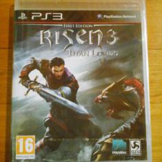 JOC PS3 RISEN 3 TITAN LORDS FIRST EDITION SIGILAT / by DARK WADDER - Jocuri PS3 Altele, Actiune, 16+, Single player