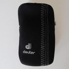 Husa telefon Deuter, Negru, Neopren