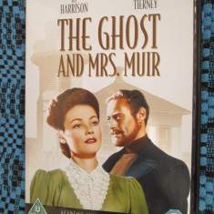 THE GHOST AND MRS. MUIR - film DVD- (original, STARE IMPECABILA!!!) - Film romantice, Engleza