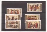 Bulgaria 1969 serie stampilata - Chronik Manassie II - MHN 1916-21, Stampilat