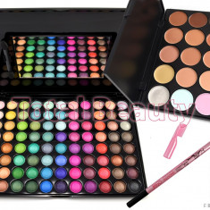 Trusa Machiaj 88 culori sidefate Fraulein + Trusa 15 Concealer + Creion - Trusa make up