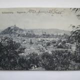 Sighisoara - Vedere Generala  1921, Circulata