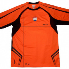 Tricou sport fotbal KIPSTA Nederland tehnologie Equarea, ca nou (L) cod-169091 - Set echipament fotbal, Marime: L