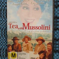 TEA WITH MUSSOLINI - film DVD (original, CA NOU!!!)
