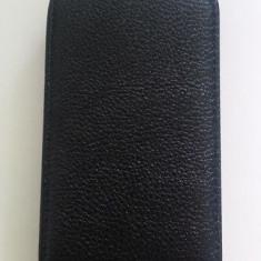 Husa flip neagra Blackberry 5510 + folie cadou - Husa Telefon Blackberry, Negru, Toc