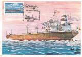 % ilustrata maxima-ZIUA MARINEI 1980-Tanc petrolier construit in 1974