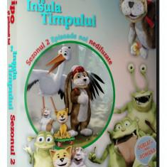 Vipo si prietenii pe insula timpului - Colectie 4 DVD-uri desene dublate romana