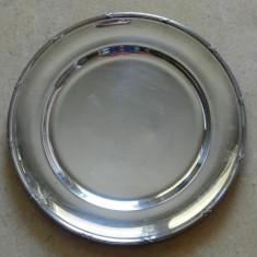 Platou argintat Art Nouveau.