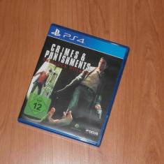 Joc PS4 - Crimes & Punishments Sherlock Holmes - Jocuri PS4, Actiune, 16+