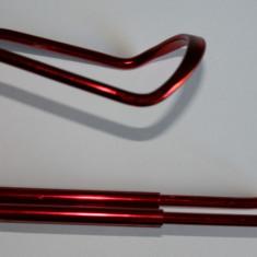 Suport bidon aluminiu eloxat - rosu visiniu