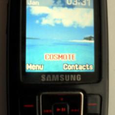 SAMSUNG SGH-E251 - Banda flex de la butoanele de sub display nu functioneaza. - Telefon Samsung, Negru, Nu se aplica, Neblocat, Single SIM, Single core