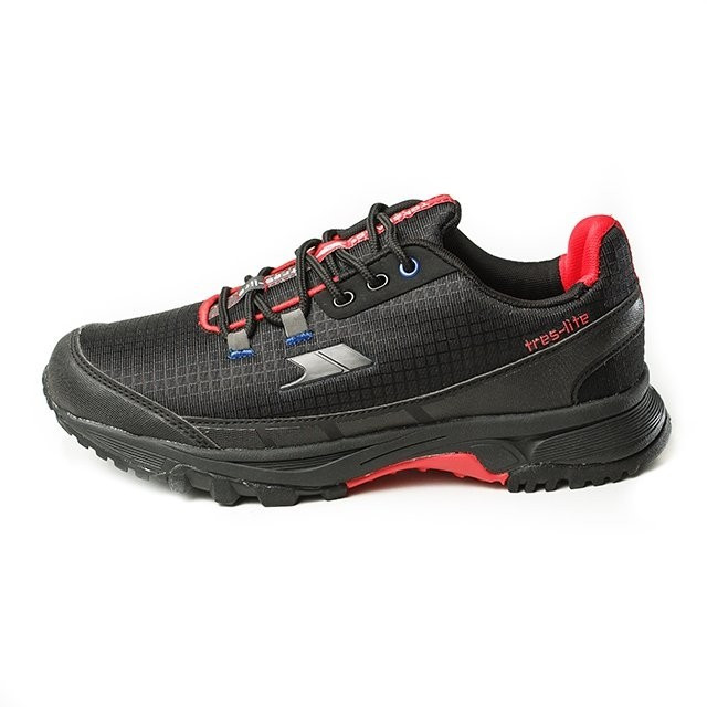 Pantofi barbatesti Trespass Frontier Black-Red (MAFOTNK10002) foto mare