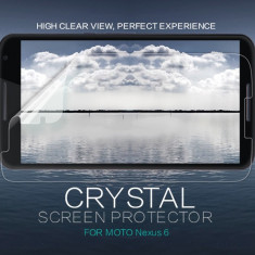 Folie Motorola Nexus 6 Transparenta by Nillkin - Folie de protectie Motorola, Lucioasa