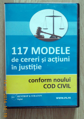 117 modele de cereri și acțiuni In justiție foto