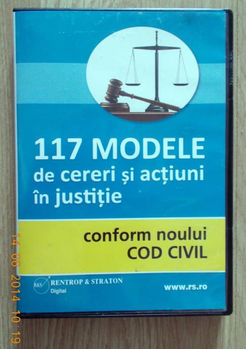 117 modele de cereri și acțiuni In justiție