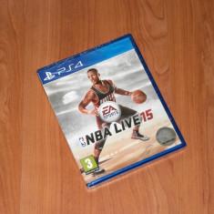 Joc PS4 - NBA LIVE 15, nou, sigilat - Jocuri PS4, Sporturi, 3+