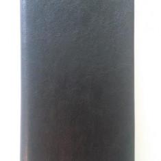 Husa toc flip carte negru Huawei Ascend P6