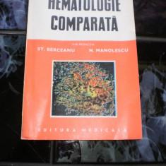 Hematologie comparata ST. Berceanu