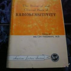 Radiosensitivity Milton Friedman