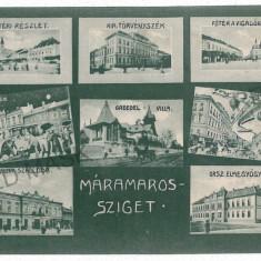 2756 - Maramures, SIGHET - old postcard, CENSOR - used - 1916 - Carte Postala Maramures 1904-1918