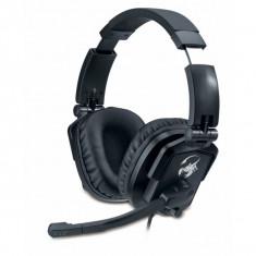 Casti gaming cu microfon, design pliabil, reglaj volum, Genius Lychas G-550 GX Gaming (31710040101) - Casti PC