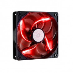 Ventilator carcasa COOLER MASTER SickleFlow 120mm, conector 3-pin, LED rosu (R4-L2R-20AR-R1) - Cooler PC