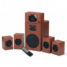 Boxe 5.1 Genius SW-HF5.1 4600 (31731028100), 125W RMS, 5 sateliti x 16W + subwoofer 45W - Boxe PC