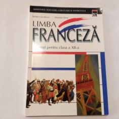 LIMBA FRANCEZA -MANUAL CLASA A XII- A .STELUTA COCULESCU, MARIOARA SIMA, RF4/3 - Manual scolar rao, Clasa 12, Rao, Limbi straine