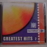 Vand cd audio Carrefour-Greatest Hits vol 2,original,raritate!