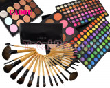 Trusa Machiaj profesionala 183 culori Fraulein + 24 Pensule + 15 Concealer CADOU, Fraulein38