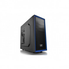 Carcasa ATX midi Tower, 1x ventilator 120mm inclus, front audio, 1x USB 3.0, 1x USB 2.0, Deepcool TESSERACT BF - Carcasa PC