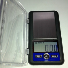 Cantar electronic de mare precizie cu platou inox pt bijuterii - AC 300g x 0.01g