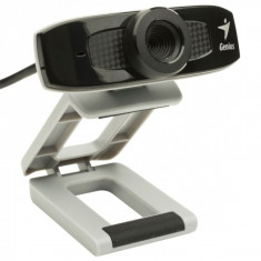 Camera Web Genius FaceCam 320, Sensor CMOS 0.3Mp, Video: 640x480 pixels