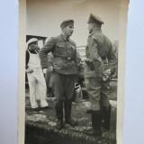 RARA! FOTO ORIGINALA MILITARI WEHRMACHT PE FRONT ANII 40 - Fotografie veche
