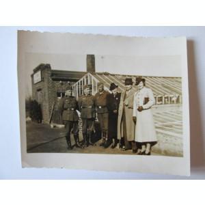RARA! FOTO ORIGINALA MILITARI WEHRMACHT ANII 40