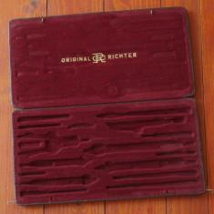 Vintage - Etui - trusa desen arhitectura - Original Richter / Kopernikus XI !!! - Instrumente desen