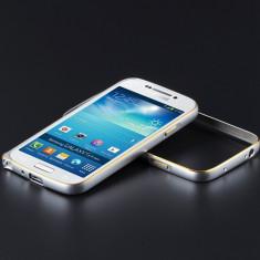 Bumper Rama Aluminiu Samsung Galaxy S4 - Bumper Telefon, Argintiu