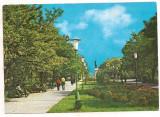 % carte postala (ilustrata)-TELEORMAN-Zimnicea Parcul, Circulata, Printata