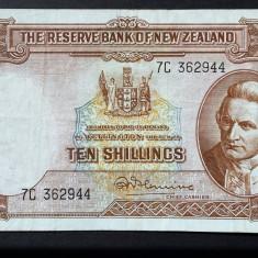 Noua Zeelanda 10 Shillings P#158 1960
