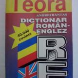 Dictionar roman/englez 40000 cuvinte - A. Bantas / R3P2F