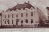 Ok-1380- Romania, Maramaros Sziget, Sighetu M. c.p. circulata 1903: Scoala Fete, Fotografie, Sighetu Marmatiei